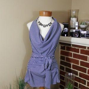 Ann Taylor Stripe blouse FREE item w/purchase